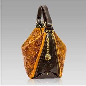 Marino Orlandi Bags - Marino Orlandi Butterfly Leather Bucket Bag